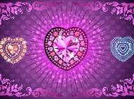 Link toDiamond heart vectors free