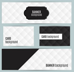 Link toDiamond-shaped banner vector