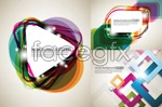 Link toDiamond triangle background vector
