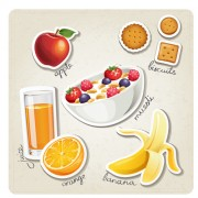 Link toDifferent breakfast food vector icons 04 free