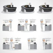 Link toDifferent cook image design vector free