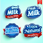 Link toDifferent labels stickers creative vector set 01 free