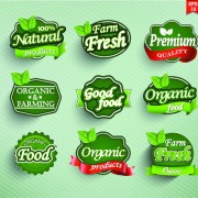 Link toDifferent labels stickers creative vector set 02 free