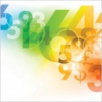 Link toDigital colorful background vector