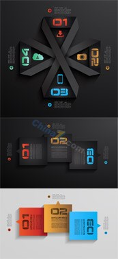 Link toDigital creative icon information template vector