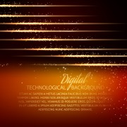 Link toDigital technology creative background vector set 01 free
