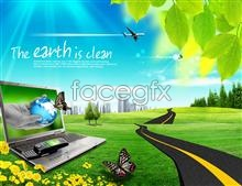 Link topsd expressway notebook planet butterfly mobile theme Digital