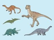 Link toDinosaurs vectors free