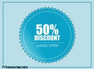 Link toDiscount badge vector free