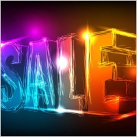 Link toDiscount gorgeous neon background 03 vector