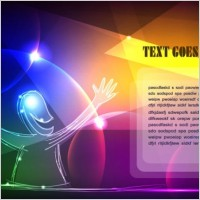 Link toDiscount gorgeous neon background 05 vector