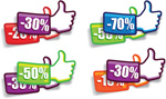 Link toThumb discount labels