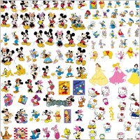 Link toDisney cartoon clip art collection
