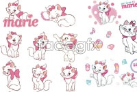 Link toDisney marie cat cartoon character vector