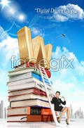 Link toDistance education business psd