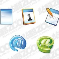 Link toDocument the calendar mail symbol cool icon psd layered