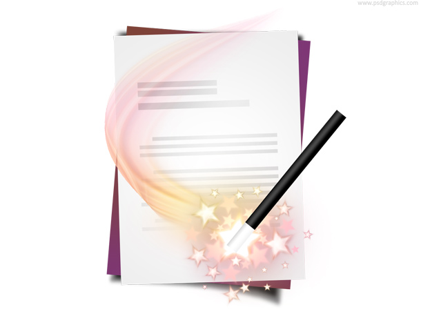 Link toDocument wizard icon (psd)