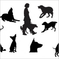 Link toDog silhouettes