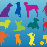 Link toDogs silhouettes