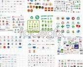 Link toDomestic vector logo collection book preview section