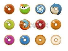 Link toDonuts icons software