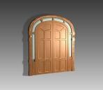 Link toDoor  004-the outter  the door 44 3d model