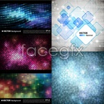 Link toDot dot background vector