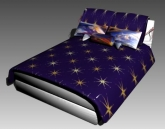 Link toDouble bed design series g: starry sky 3d model