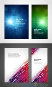 Link toDownload brochure design template vector
