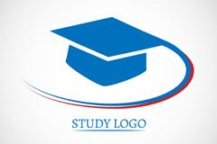 Link toDr blue cap on logo vector