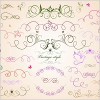 Link toDraft line lace pattern vector