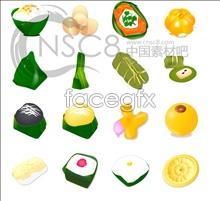 Link toDragon boat festival rice dumpling icons