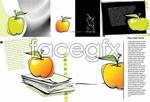 Link toDrawing apple vector