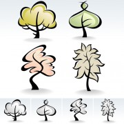 Link toDrawing cute tree vector graphics 04 free