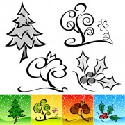Link toDrawing cute tree vector graphics 05 free