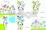 Link toDrawing flower sketches vector