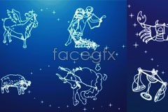 Link tovector sky the constellations 12 Dream