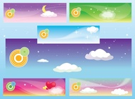 Link toDream banners vector free