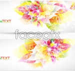 Link toDream flower background 1 vector