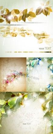 Dream flower background vector design