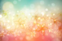 Link toDream flower halo background vector