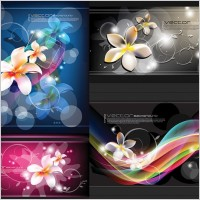 Link toDream flowers and beautiful vector background