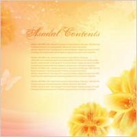 Link toDream flowers vector 14