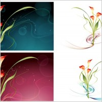 Link toDream flowers vector 15