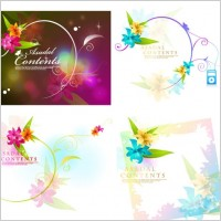 Link toDream flowers vector 16