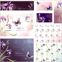 Link toDream flowers vector 17