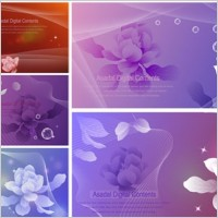 Link toDream flowers vector 1