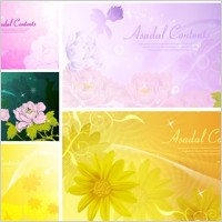 Link toDream flowers vector 3