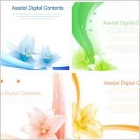 Link toDream flowers vector 4
