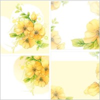 Link toDream flowers vector 6